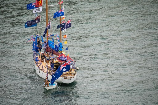 Australia Day Harbour Parade