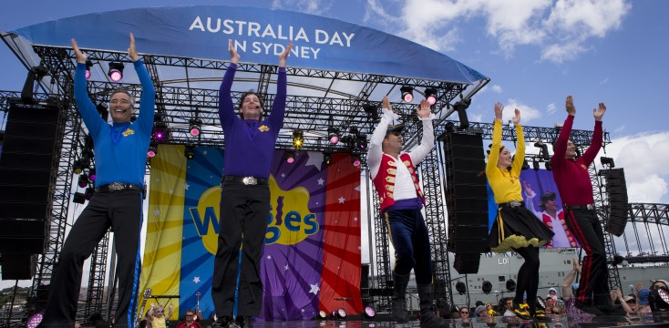 The Wiggles at Australia Day 2017 – Life at Sydney Opera House