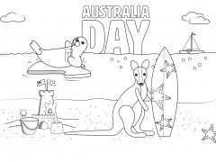 Thumbnail image of Kangaroo and Seal