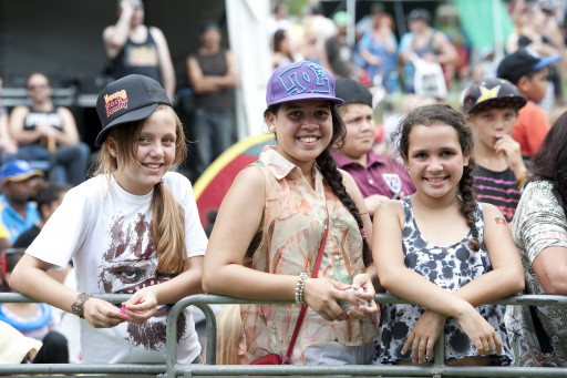 Kids enjoying Yabun 2017