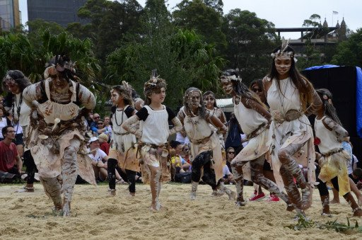 Performers at Yabun 2017