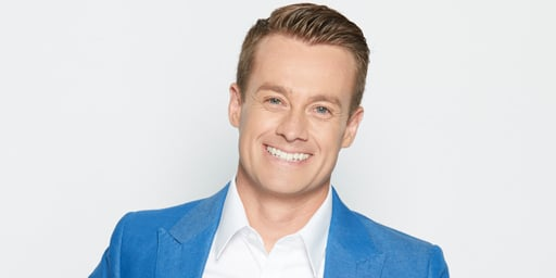 Network Ten TV personality Grant Denyer