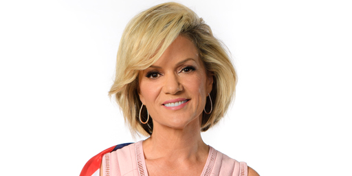 Special guest host Sandra Sully
